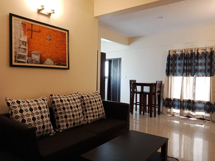Spacious 1BHK- WiFi -Tranquil Serviced Apartments