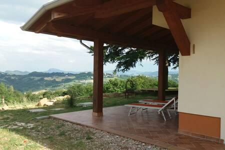 Casa panoramica legno e lana