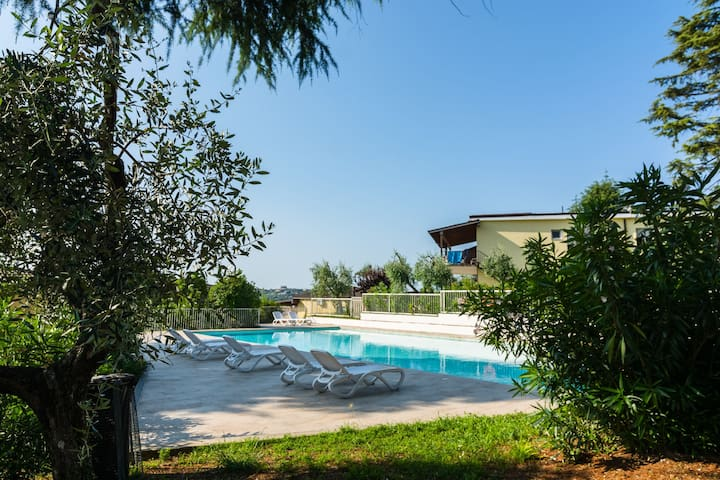 Secluded Apartment in Manerba del Garda with 3 Pools