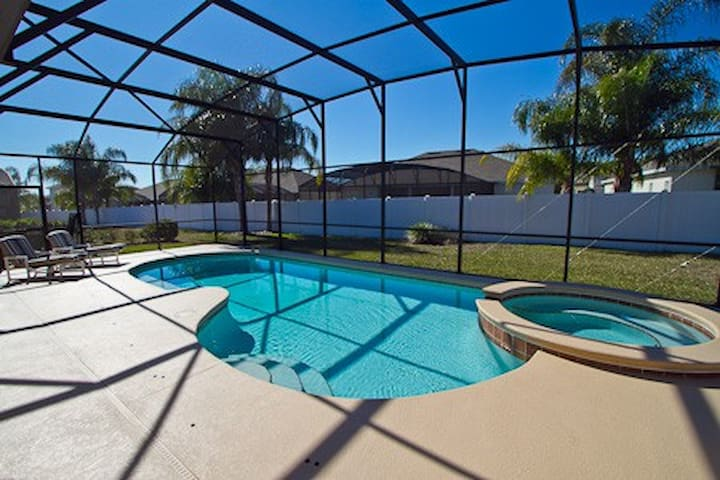226 - Large 4 bedroom disabled accessible villa with extended deck and south facing pool