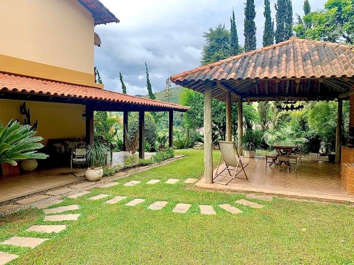 Belíssima casa em Itaipava