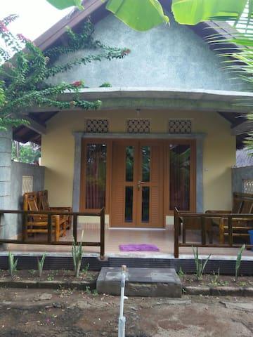 Faezal cottage family flower cottage