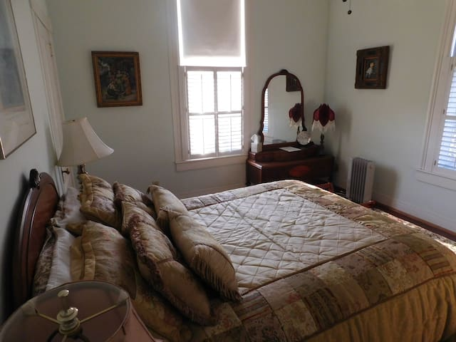 1900 French Arte Deco room with queen size bed