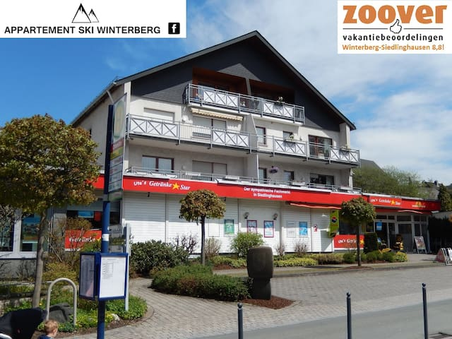 Cozy 4-5 person appartment close 2 Winterberg WIFI
