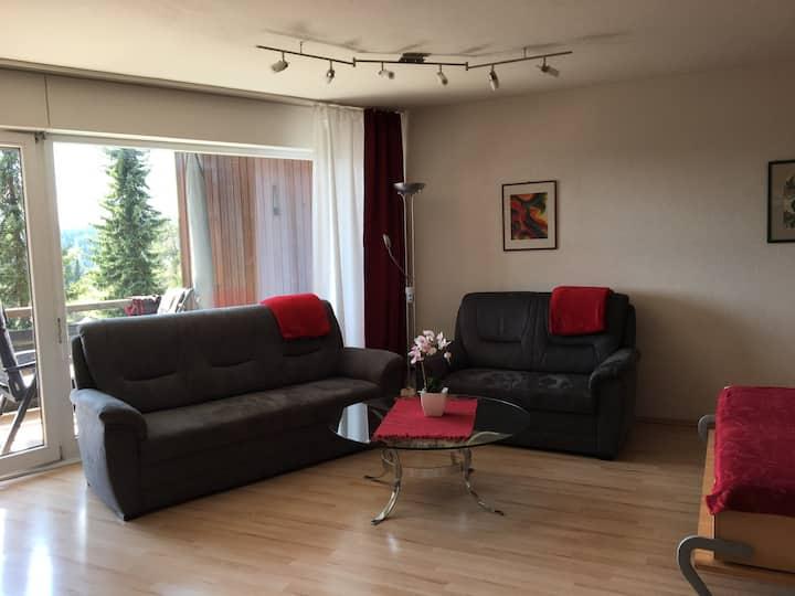 Terrassenpark Schonach, App. 161, (Schonach), Ferienwohnung 83qm, 1 Schlafraum, 1 Wohn-/Schlafraum, max. 5 Personen