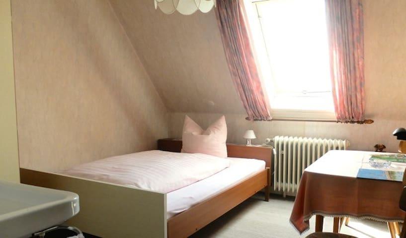 Gasthaus Schwert, (Seelbach), Einzelzimmer mit Etagen-Dusche und Etagen-WC