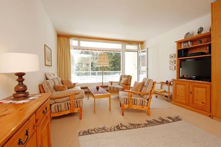 2-1/2-bedroom apartment, top location in Davos