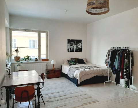 Cozy and bright studio in the middle of Kallio
