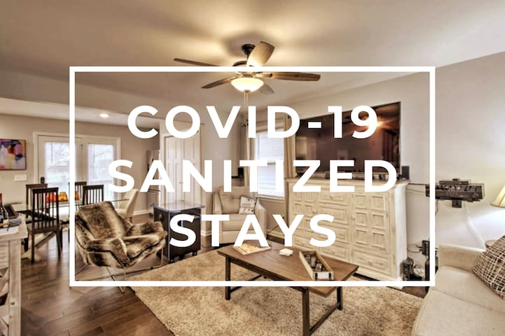 Discounted!  Sanitized Home- Cozy Stay!