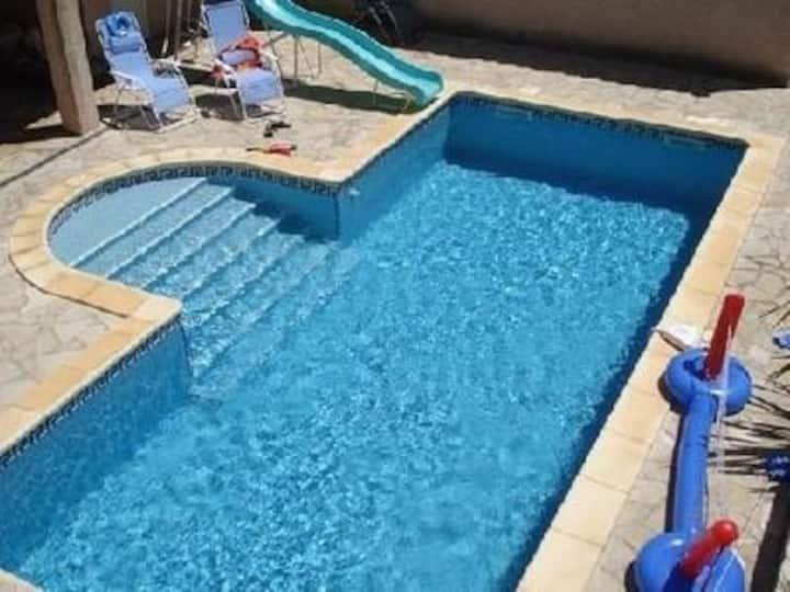 Med Villa Private Pool WiFi Trampoline Gym