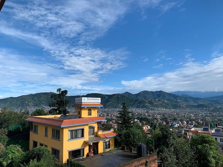 Beautiful Nepali Home with Kathmandu View!