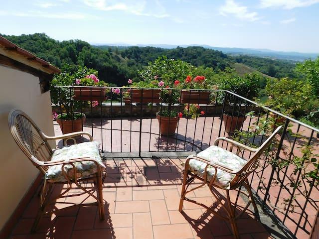 Casa Vacanze nelle campagne della Toscana - Tasso - Haus