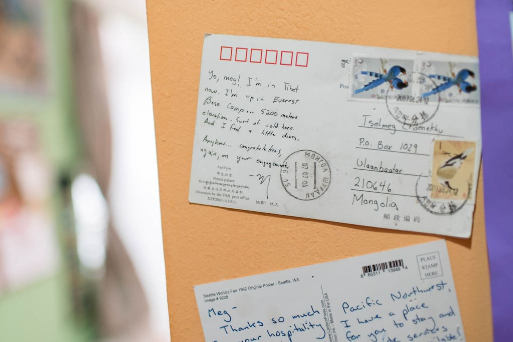 Post cards from around the world