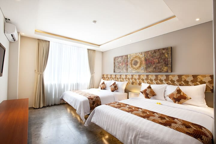 Deluxe Family Budget at Legian Kuta,Close to Beach
