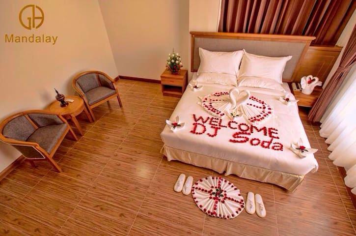Platinum room - Mandalay - Teljesen felszerelt lakás