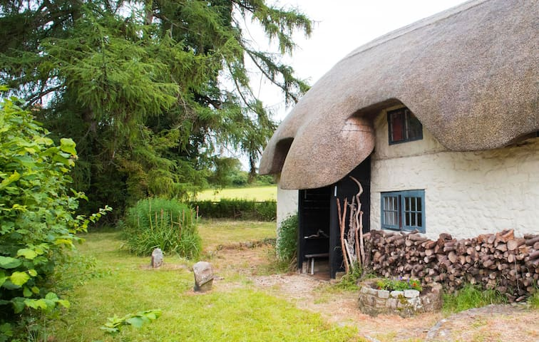 Super cosy 17thC thatched country cottage in Wilts