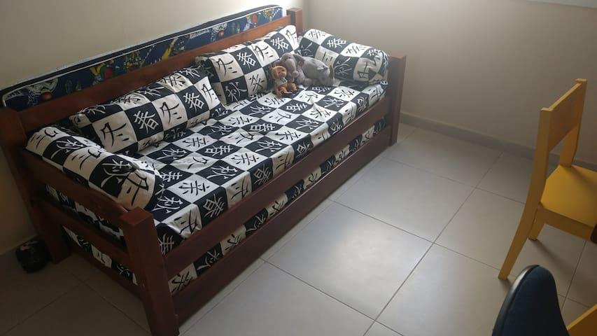 Cozy bedroom in Central São Paulo