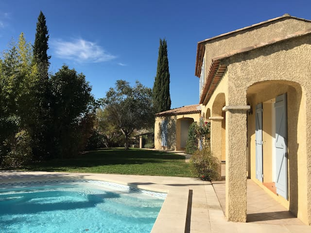 Logement avec piscine proche Aix en Provence