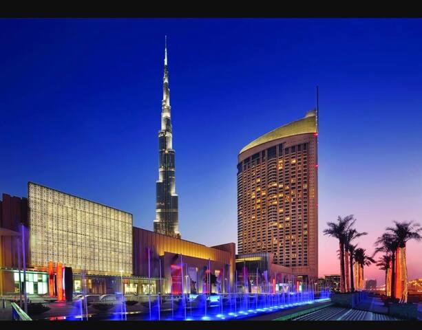 Address Dubai Mall Hotel Apartment 1 Bedroom 23 fl