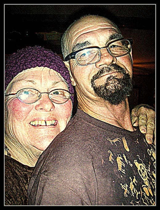 Your hosts Mel and Melanie  Stauffer