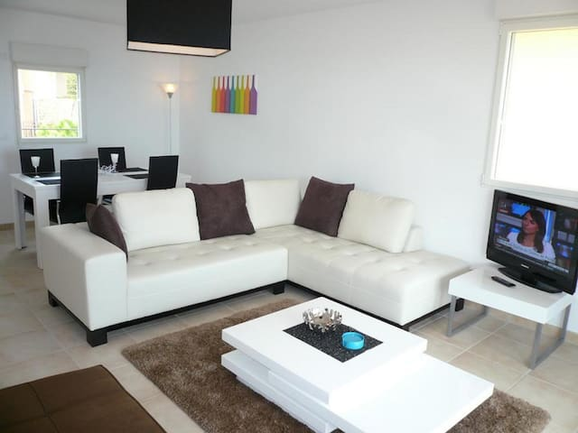 Beautiful apartment with sea view in residence in Mandelieu