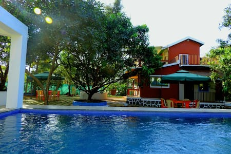 Goan Villa with Pool Amidst Mother Nature, Alibaug - Alibag - Villa