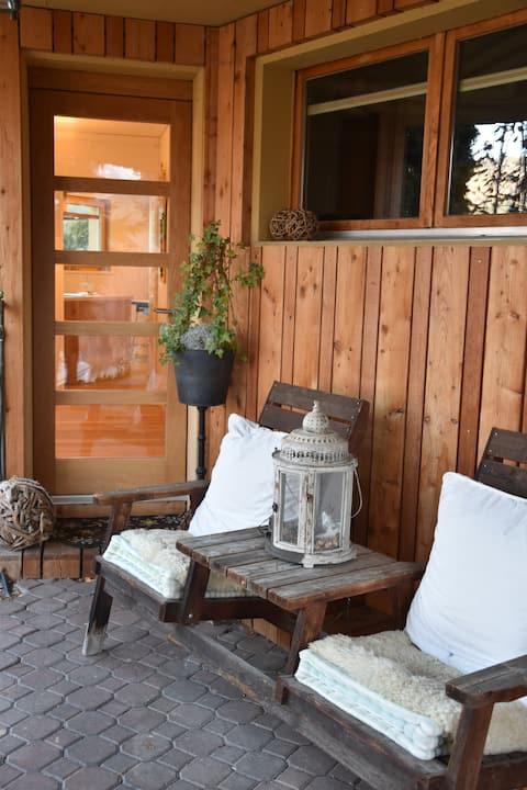 Charmante Wohnung in kleinem Weiler, Nähe Visp