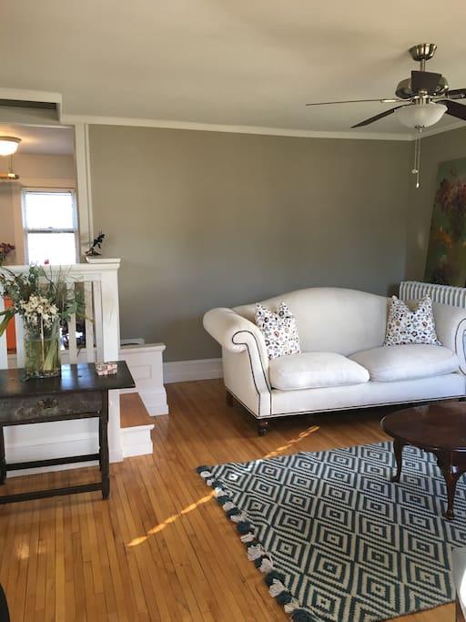 Bright, comfortable living area!