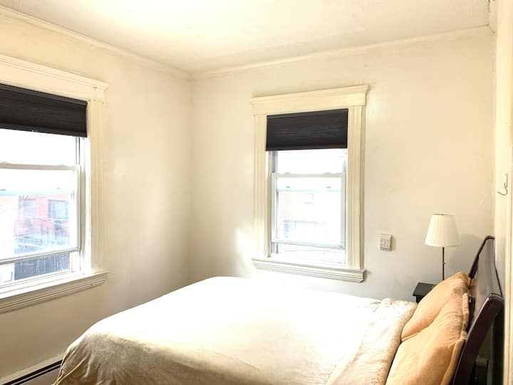 (202)private room in downtown Flushing近地铁奢华舒适整洁大床房