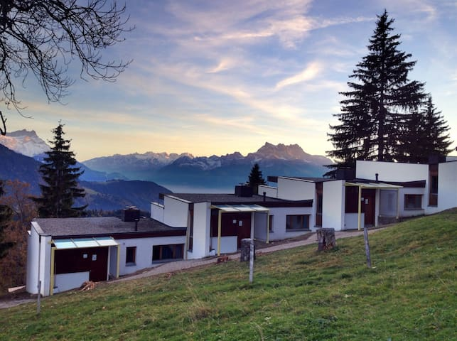 Small chalet in the Alps week