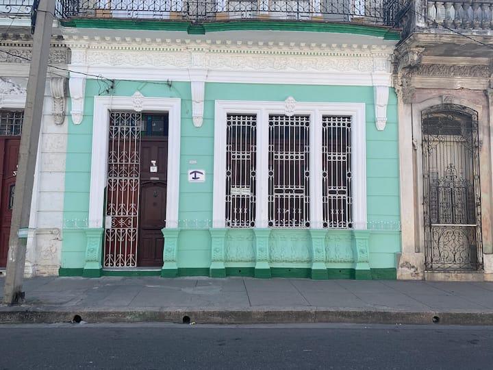 Casa Angela Cienfuegos Historic Center