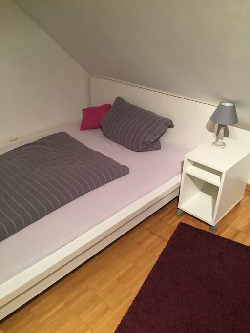Das gemütliche 140m Bett