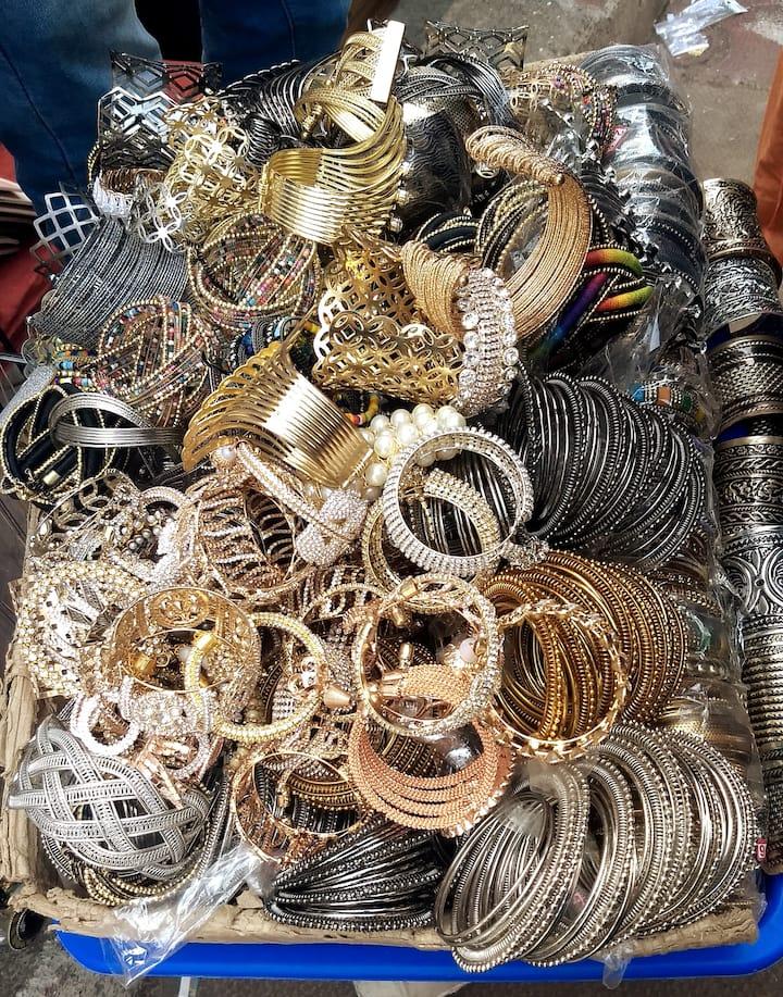 Huge range Junk Oxidized bracelets