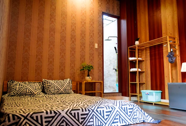 Ha Tien Homestay - Double Room with Terrace