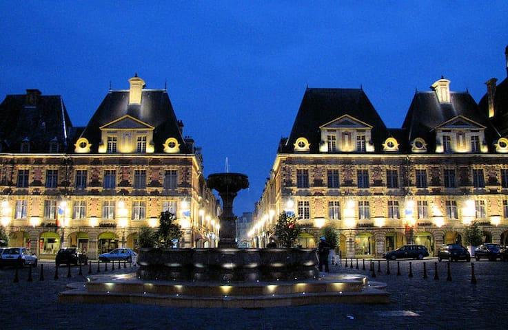 3 pieces tout confort - Charleville-Mézières - Byt