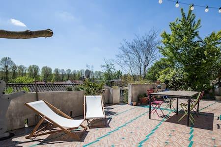 house garden Paris - Casa