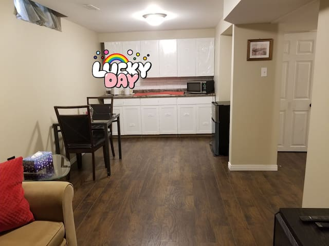 Basement Apartment - Garage Separate Entrance