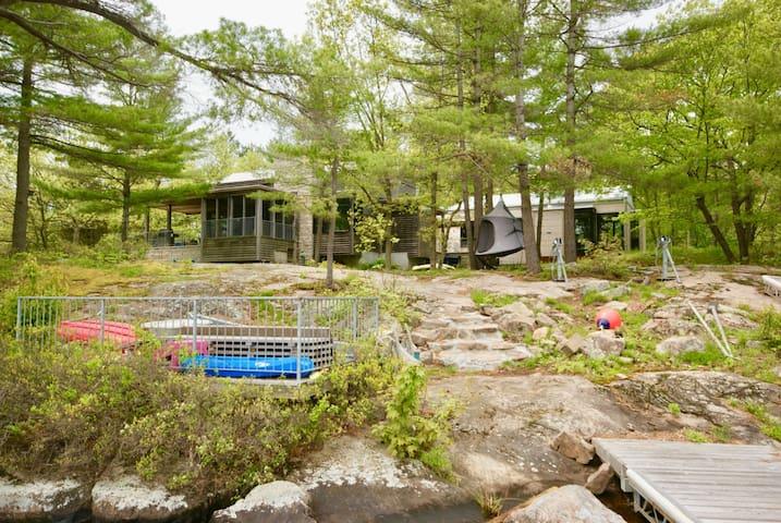 Modern Zen Escape On Stoney Lake