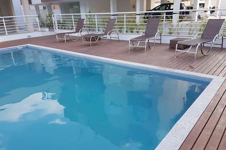 Apartamento a poucos metros da praia - フロリアノポリス - アパート