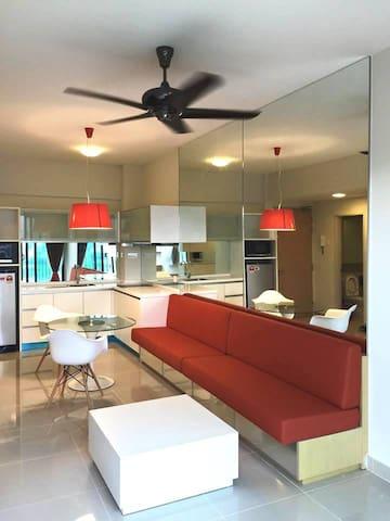 Cozy apartment, 1min to train - Kuala Lumpur - Byt