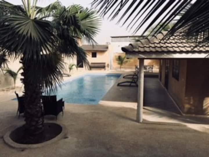 Beautiful villa in Nianing, Mbour, Senegal