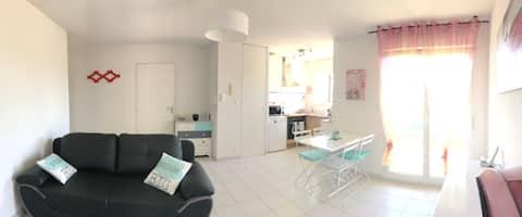 Appartement T2 à Salles, proche Bassin d'Arcachon
