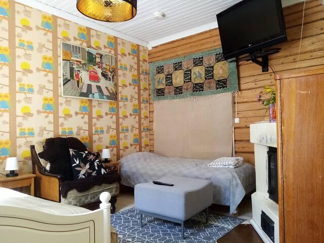 Nice 15 m2 room 3. - Kuopio city centre