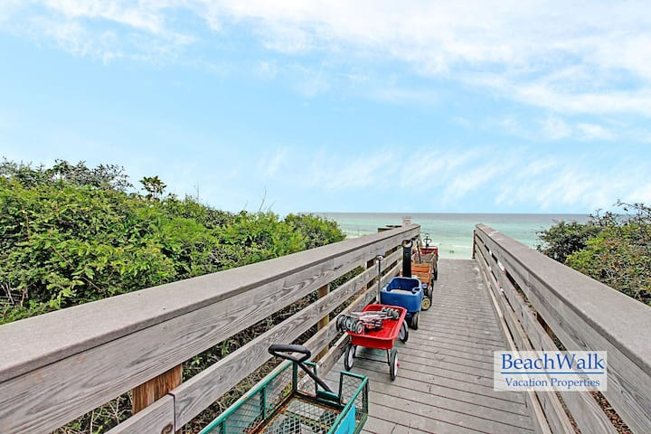 Discounted 2020 Rates! Close to Seaside - Community Pool, Walk to Beach*~ 9A at Beachwood Villas 30A