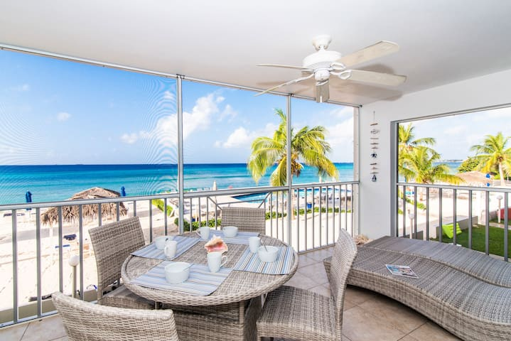 Seven Mile Beachfront Condo at Discovery Point