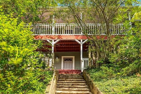 Charming Cottage Overlooking Downtown AVL