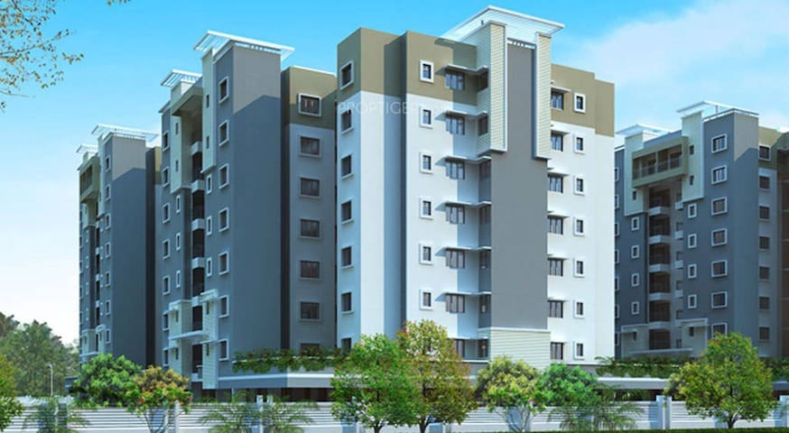 A cozy 2 bed room unit in Ozone. - Bangalore  - Huoneisto