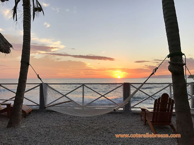 Cozy OCEAN VIEW Room - Jacmel - Chalet