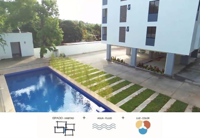 Apartamento privado 2 recamaras 1 baño - Puerto Vallarta - Lägenhet