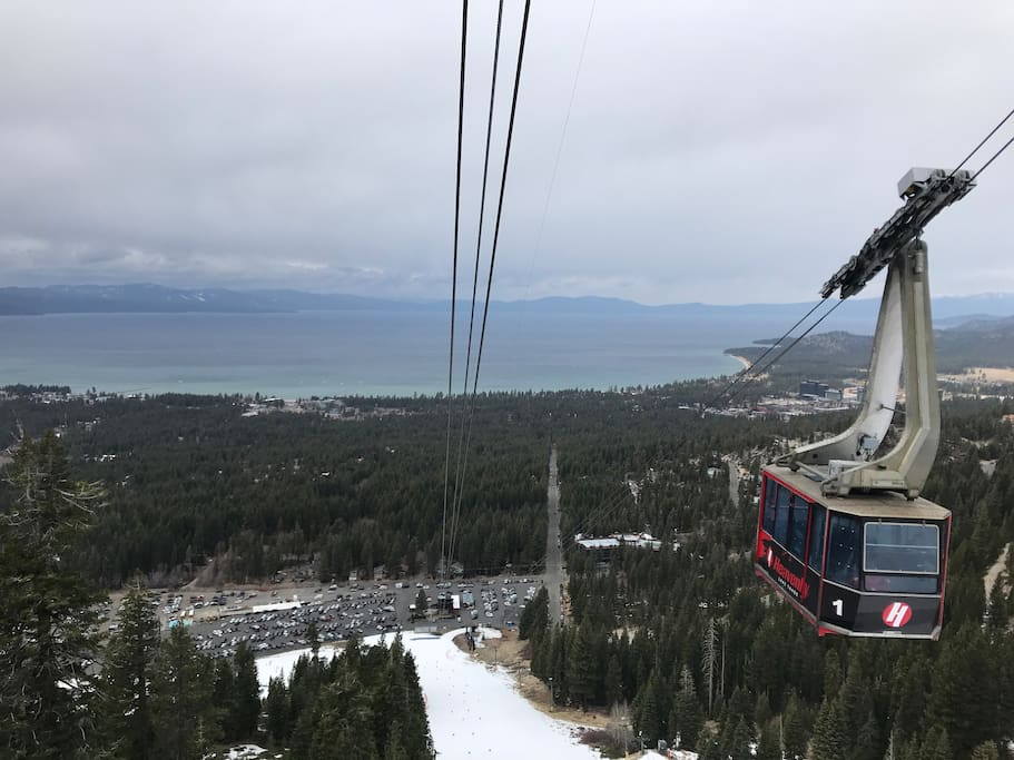 View From Heavenly's Tram